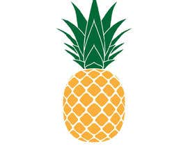 dcarolinahv tarafından I need you to make a simple design of a pineapple. It doesnt really need to much detail. Just have a yellow pineapple with a green top (leaves). için no 21
