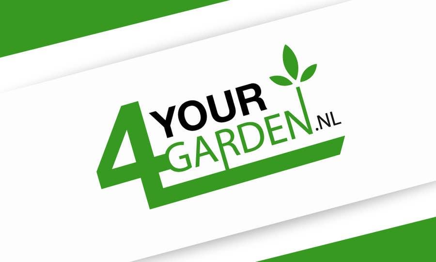 Penyertaan Peraduan #358 untuk Logo Design for 4yourgarden.nl