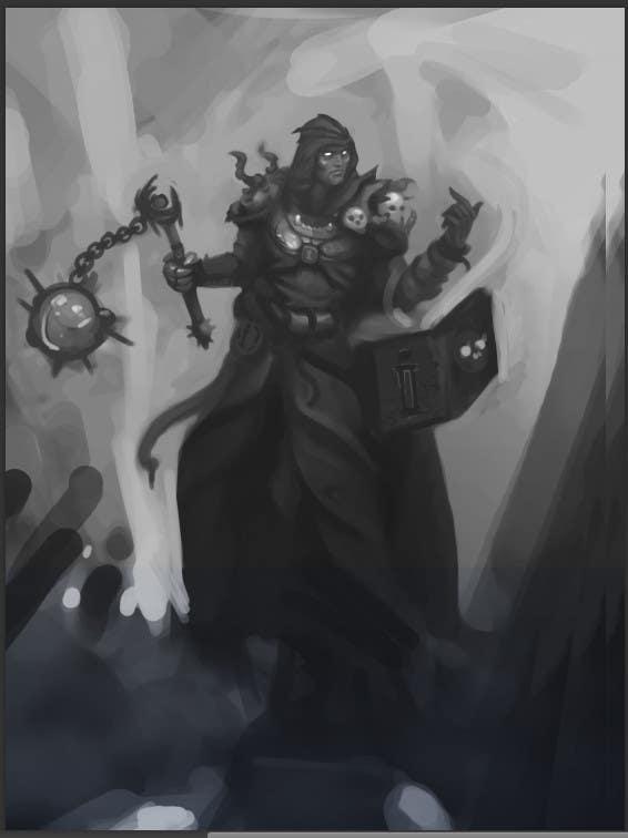 D Amp D Heroe Art Divine Disciple Necromancer Fighter