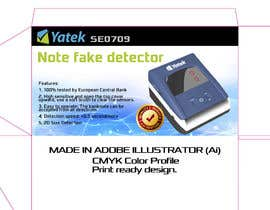 yourSalesPitch tarafından Create Print and Packaging Designs: Note fake detector için no 5