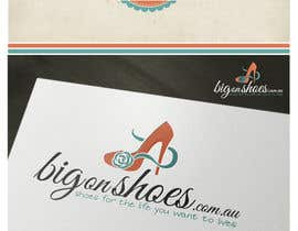 #145 para Logo Design for Big On Shoes por topcoder10