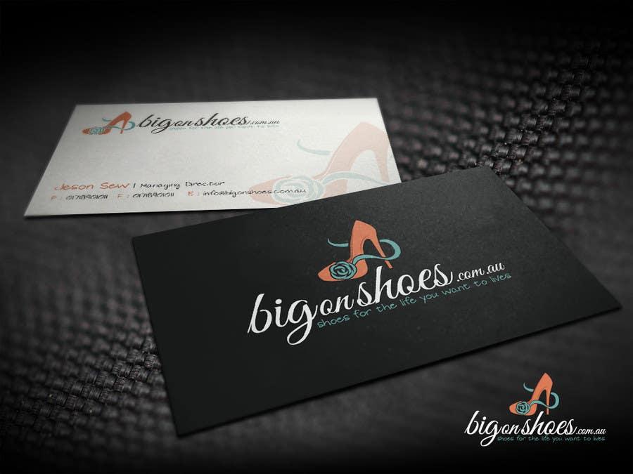 Inscrição nº 119 do Concurso para Logo Design for Big On Shoes