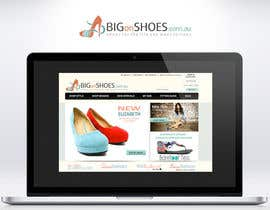 topcoder10 tarafından Logo Design for Big On Shoes için no 256