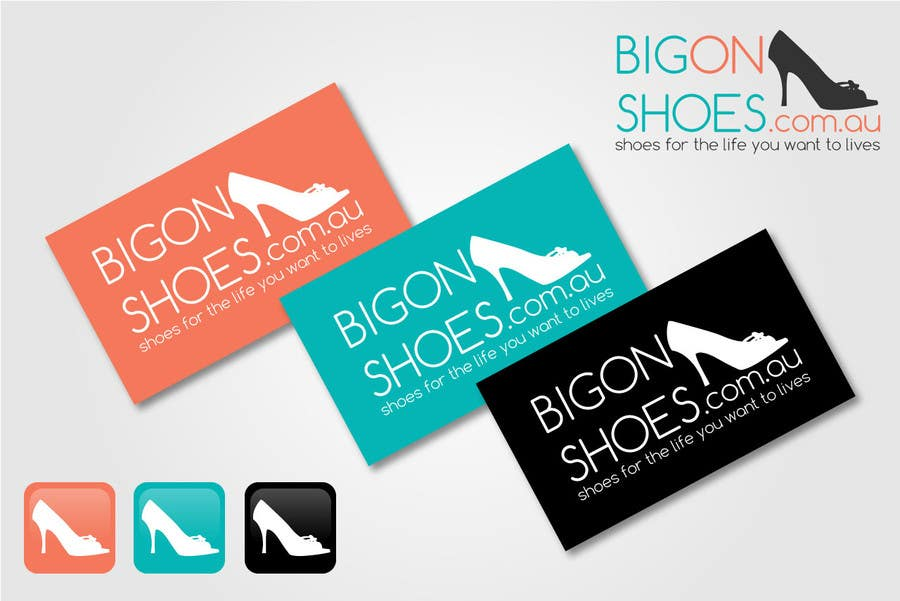 Inscrição nº 381 do Concurso para Logo Design for Big On Shoes
