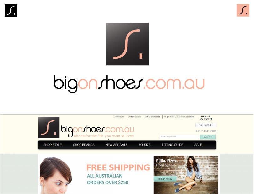 Inscrição nº 279 do Concurso para Logo Design for Big On Shoes