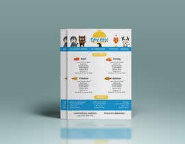 #103 for Design a One-Page Menu Flyer for PET Food af himelhossain902