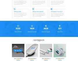 #9 for Design and build a website (landing page) for a company. Multilanguage by Baljeetsingh8551