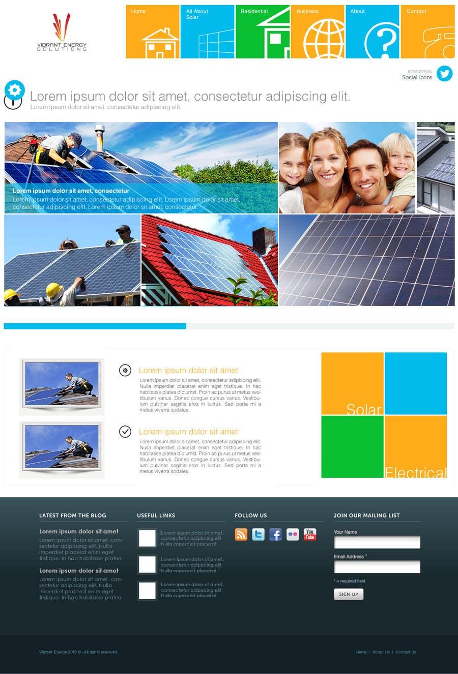 Konkurrenceindlæg #102 for Website Design for Vibrant Energy Solutions