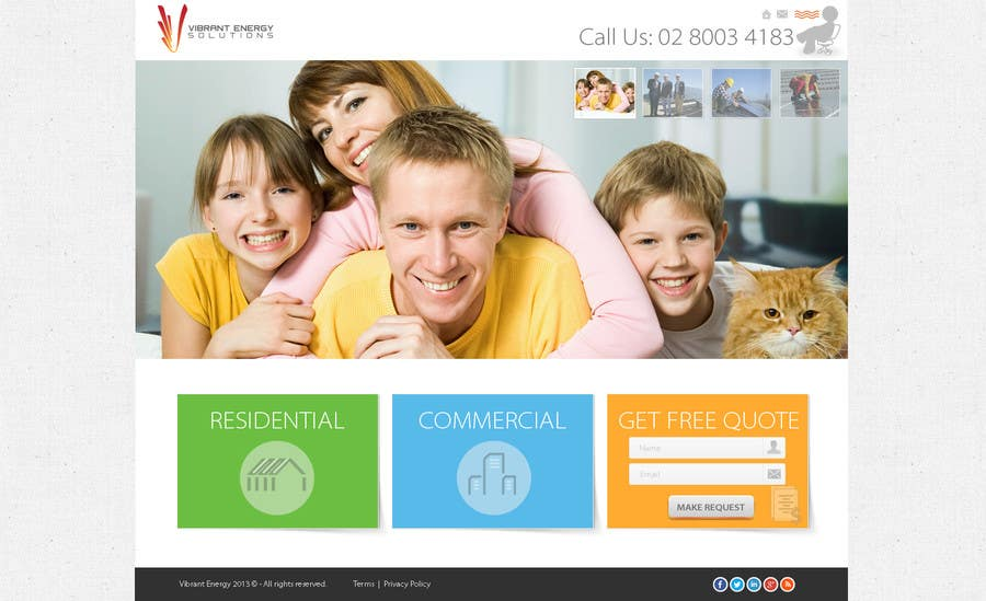 Konkurrenceindlæg #114 for Website Design for Vibrant Energy Solutions