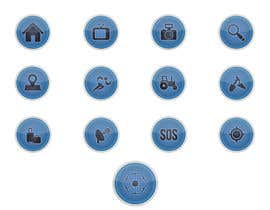 #9 for Drone Applications - ICON DESIGN x 12 af CREArTIVEds