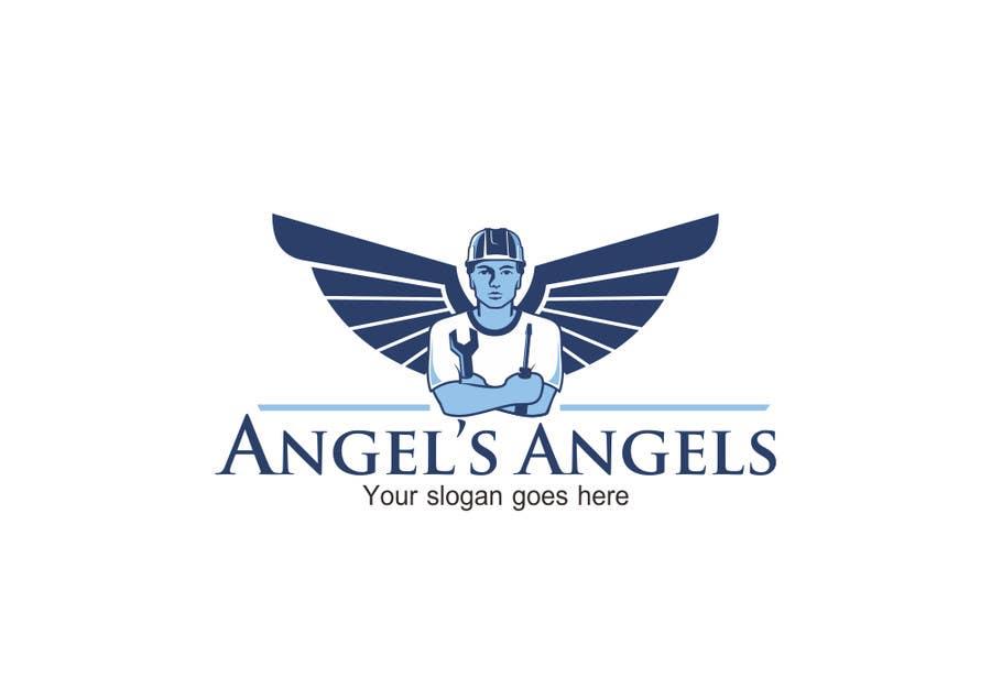 """Inscrição nº                                         9                                      do Concurso para                                         Design a Logo for my handyman business called """"Angel's Angels"""""""