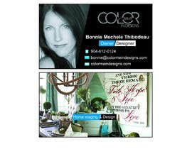 #23 for BUSINESS CARDS for Color me in designs by farenterprise201