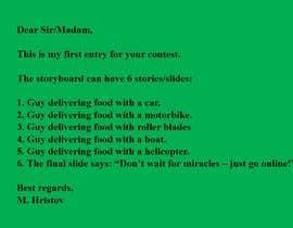 #1 for Story Board Script by mhristov35