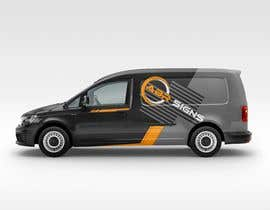 #13 for Design graphics and artwork for 2018 Ford Transit Custom van by angellopez1