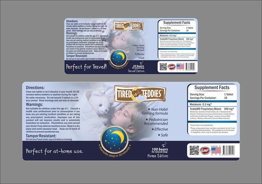 Konkurrenceindlæg #                                        56                                      for                                         Print & Packaging Design for Teddy MD, LLC