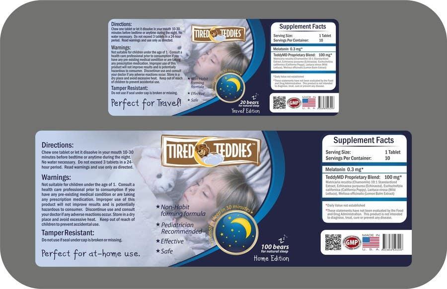 Конкурсная заявка №47 для Print & Packaging Design for Teddy MD, LLC