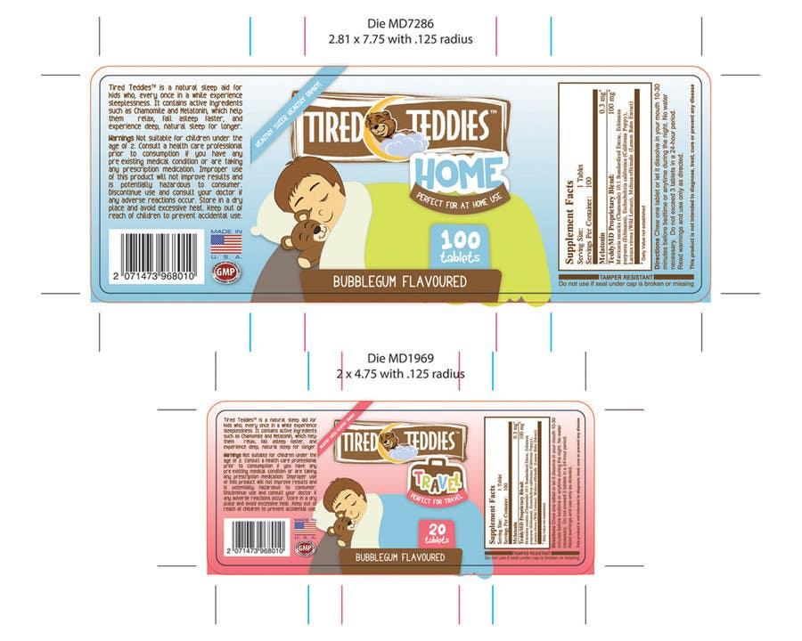 Konkurrenceindlæg #                                        39                                      for                                         Print & Packaging Design for Teddy MD, LLC