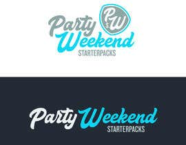 #95 for Party Weekend Logo af ChavezR