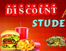 #35 for Create a catchy restaurant banner for students by koleems