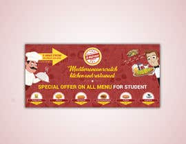 #44 for Create a catchy restaurant banner for students by shihab140395