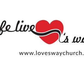 nº 10 pour vector pdf file  for a church - needs to say: Live Life ❤️'s Way   At the bottom edge of the decal and smaller it needs to say: www.loveswaychurch.com Can be circle or oval / sideways oval might look good? Not sure of colors ?Just heart needs to be red. par CIVIL08