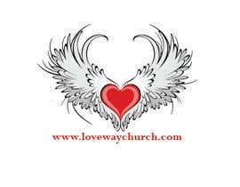 #4 for vector pdf file  for a church - needs to say: Live Life ❤️'s Way   At the bottom edge of the decal and smaller it needs to say: www.loveswaychurch.com Can be circle or oval / sideways oval might look good? Not sure of colors ?Just heart needs to be red. af ibrahimplus