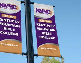 #82 for Design a Lightpole Banner for a College by alomgirdesigner