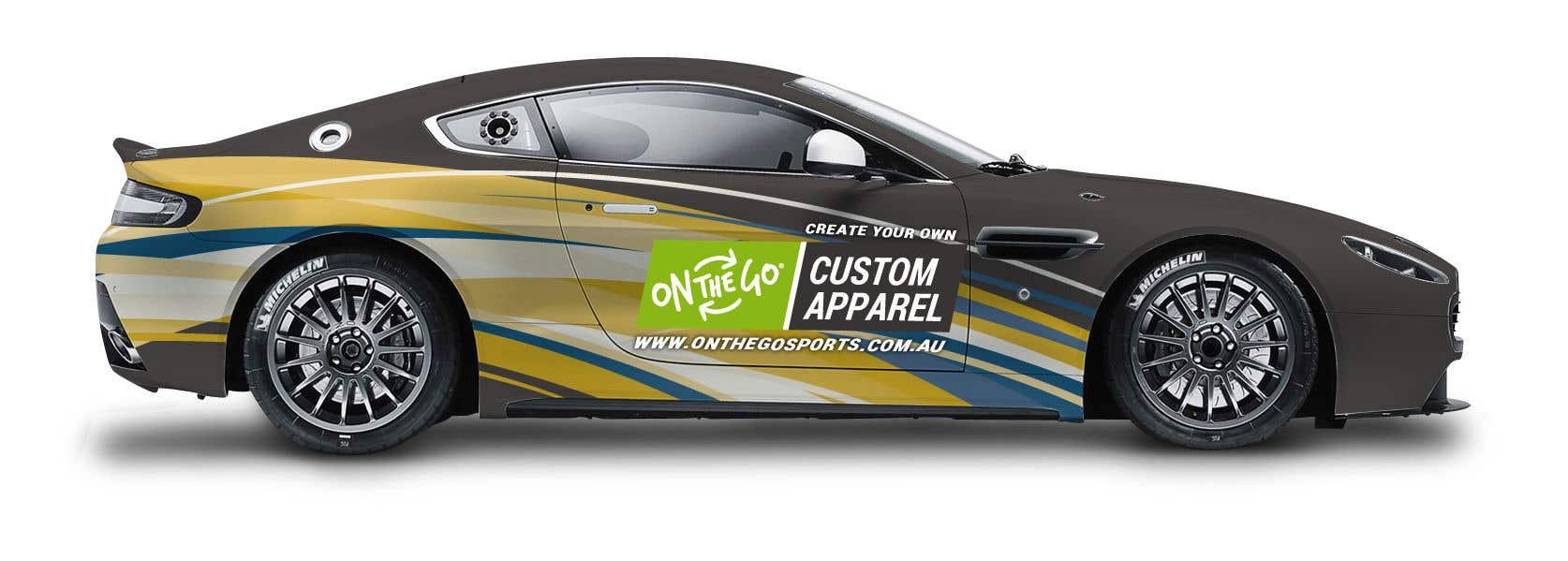 Entry By Kchrobak For Promotional Signage For Aston Martin - Aston martin apparel