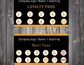 #7 for Design and Print a 1) Loyalty Pass (Membership Pass) and 2) Multi Pass for kids Indoor Playground Facility by tanveermh