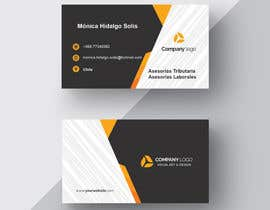 Nro 1 kilpailuun Design some Business Cards for a tax counter käyttäjältä Nadeem391