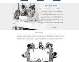 #54 for One page mockup for a website (landing page) by webcreadia
