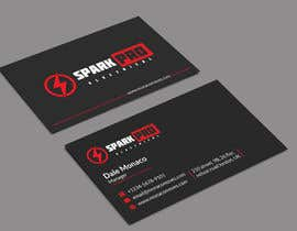 #493 for Design a business card for an electrical contractor by nayanhasan82