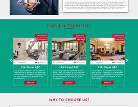 #24 for Design and build of Real Estate website by Ansari1400