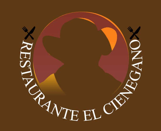 "Konkurrenceindlæg #12 for Hi guys! I need your help to create the logo of my new restaurant. It is called ""RESTAURANTE EL CIENEGANO"". I attach proposed colors and concept. It is important that the logo bears a hat typical of the Colombian Caribbean coast since that is the theme"