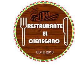 "#15 for Hi guys! I need your help to create the logo of my new restaurant. It is called ""RESTAURANTE EL CIENEGANO"". I attach proposed colors and concept. It is important that the logo bears a hat typical of the Colombian Caribbean coast since that is the theme af ayeshamuhamad"