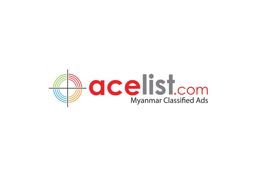 Konkurrenceindlæg #                                        66                                      for                                         company logo icon with acelist.com and Myanmar classifieds ads text