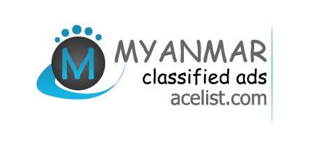 Kilpailutyö #33 kilpailussa company logo icon with acelist.com and Myanmar classifieds ads text