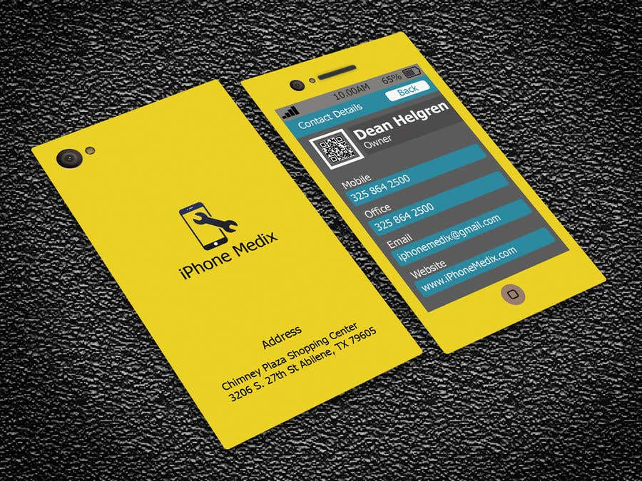 Konkurrenceindlæg #64 for BUSINESS CARD DESIGN/CELLPHONE & TABLET REPAIR -- 2