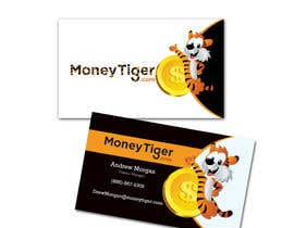 #124 for design business card for Money Tiger by bwcdesignsbykc
