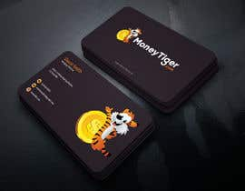 #106 for design business card for Money Tiger by graphicsbd7