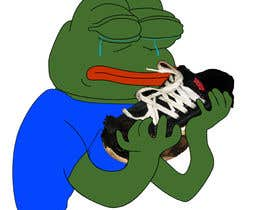 #13 for Draw a picture of sad pepe  with a shoe in hands by Veera777