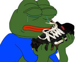 #14 for Draw a picture of sad pepe  with a shoe in hands by Veera777