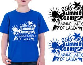 #19 for Design a T-Shirt for a Summer Camp by RibonEliass