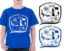 #27 for Design a T-Shirt for a Summer Camp by RibonEliass