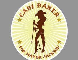#30 for Sexy Cowgirl for Mayor Sticker by minalouie