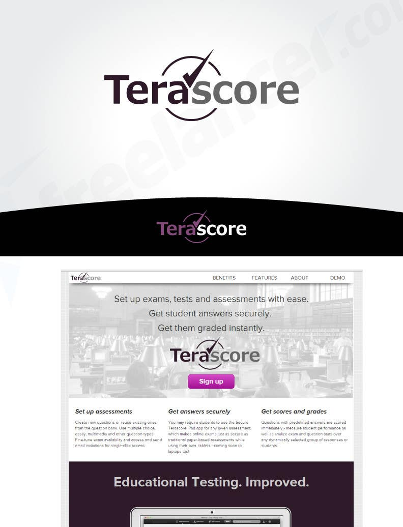 #46 for Logo Design for Terascore by robertlopezjr