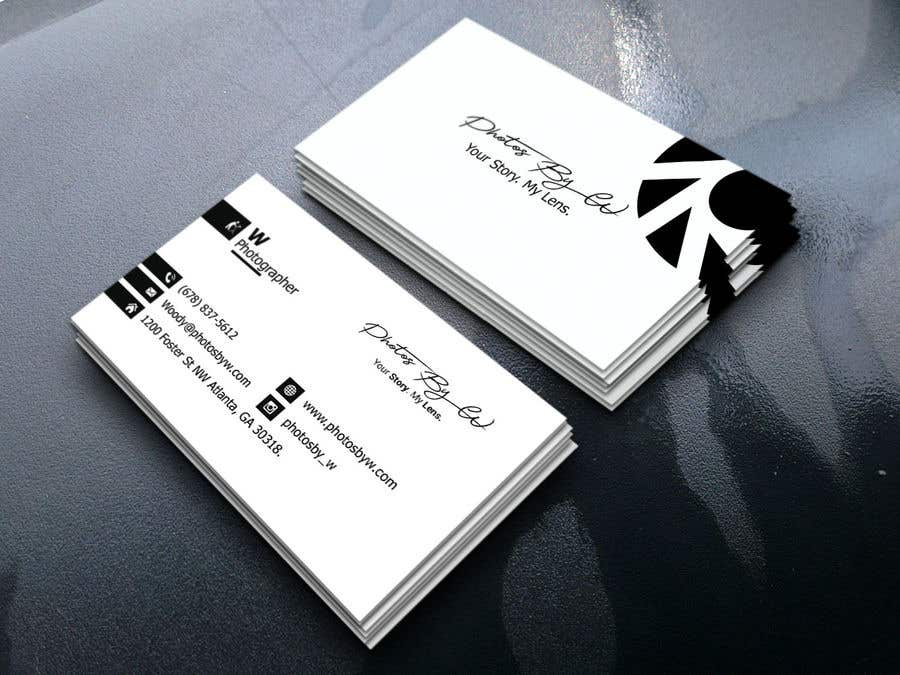 Entry #94 by UyDeisgn for Photographer Business Card Design   Freelancer