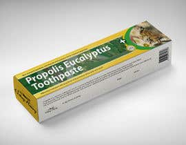 #49 para G'day honey propolis spray and Eucalyptus tooth paste package and label design por agustinscalisi