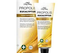 #24 para G'day honey propolis spray and Eucalyptus tooth paste package and label design por ixanhermogino