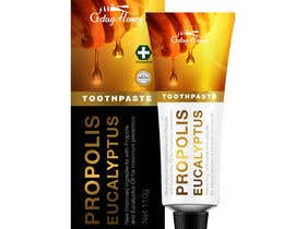 #26 para G'day honey propolis spray and Eucalyptus tooth paste package and label design por ixanhermogino